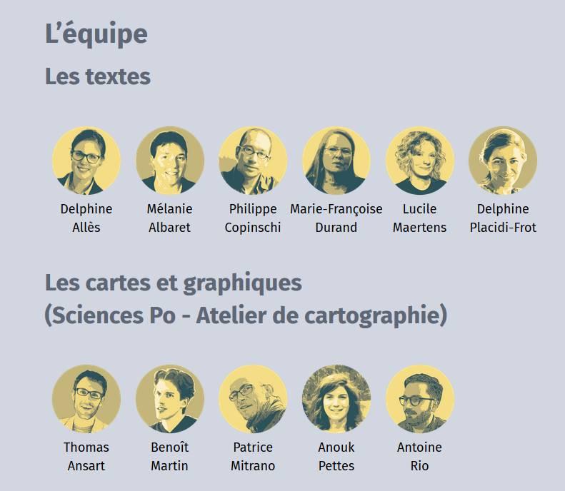 Espace mondial - les auteurs